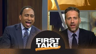 Stephen A. laughs at Max saying the Cavaliers 'need to be prepared' for Raptors | First Take | ESPN