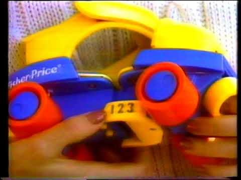 Rollschuhe von Fisher Price - Deutsche Werbung - [German commercial] - [VHS] - [1990]