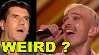 WEIRDEST Act EVER on X FACTOR? Confused as Hell...