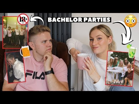 WHAT HAPPENED ON OUR BACHELOR PARTIES...  *pre wedding party*