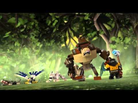 Vidéo LEGO Chima 70125 : Le gorille légendaire
