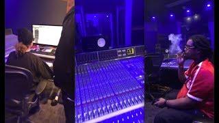 Swae Lee Recording a HIT w/ Chopsquad DJ 🔥