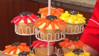 How To Make Flower Power Cupcakes With Betty Crocker