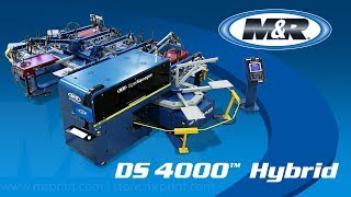 The DS-4000 Digital Squeegee Hybrid Printing System