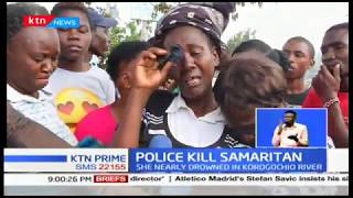 Police Kill Samaritan: Officer shoots dead a boda boda rider who had rushed a girl to Mama Lucy