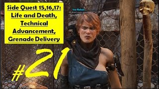 Elex - Life and Death - Technical Advancement - Grenade Delivery - Old Blue Prints - Supply Explosives