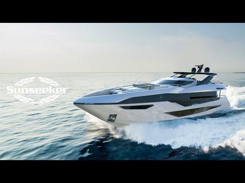 Sunseeker 100 Yacht video