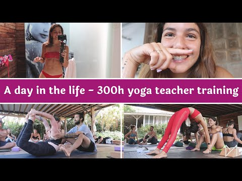 A day in the life of my 300H yoga teacher training
