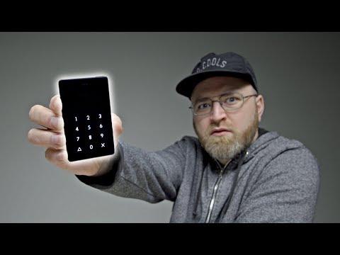 What a strange phone…