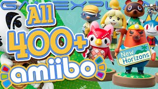 Scanning All 400+ Amiibo in Animal Crossing: New Horizons!