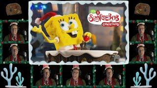 """Santa Has His Eye On Me"" Acapella Cover 🎄 | SpongeBob (Lyric Video)"