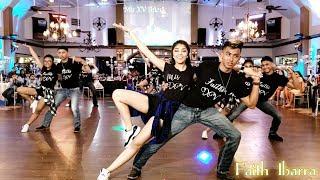 Faith Ibarra Quinceanera Surprise Dance | baile esta cumbia, get right, stand by me, billie jean