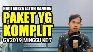 HADY MIRZA - JATUH BANGUN || GEGAR VAGANZA 2019 MINGGU 7