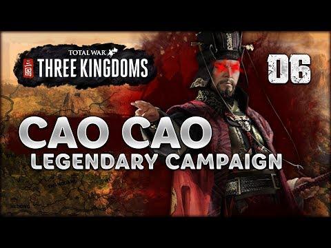 LEGENDARY CAO CAO - Total War: Three Kingdoms - Part 6