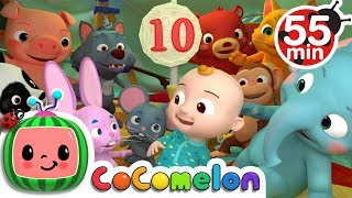 Ten in the Bed | +More Nursery Rhymes & Kids Songs - CoCoMelon