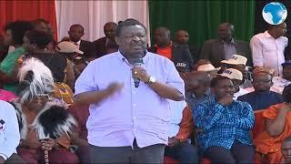Mudavadi applauds Uhuru on the coronavirus directive