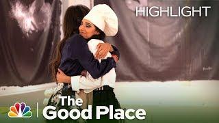 Tahani and Kamilah Finally Make Up - The Good Place (Episode Highlight)