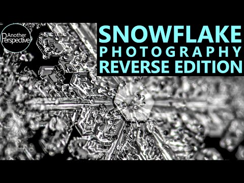 How Snowflakes Are Reborn - an HD Closeup Video