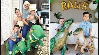 Nathans Dinosaur Birthday Party