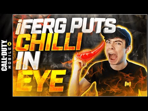 , title : 'iFerg gets Chilli in his Eye by Accident...