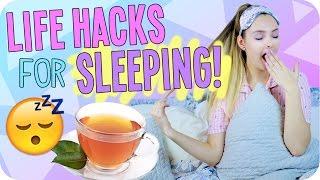 Life Hacks for Sleeping!