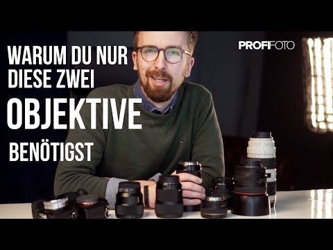 Warum jeder Portrait Fotograf nur diese zwei Objektive benötigt!