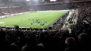 VfB Stuttgart : Schalke 04- Kling Glöckchen Kling/ Jubel Nach Dem Spiel 22.12.18