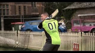 Download Youtube: WWE star John Cena takes crash course in cricket