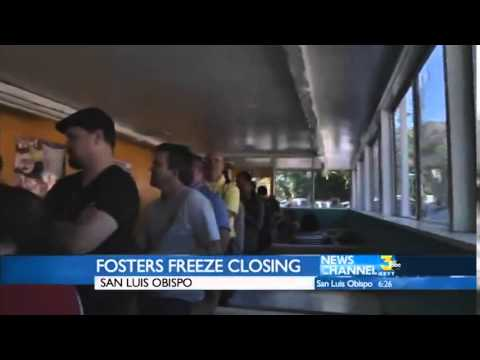 , title : 'Iconic Foster's Freeze Closes in San Luis Obispo