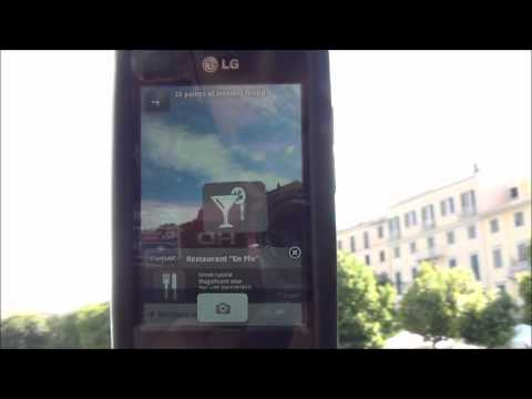 Video of CorfuAR city guide