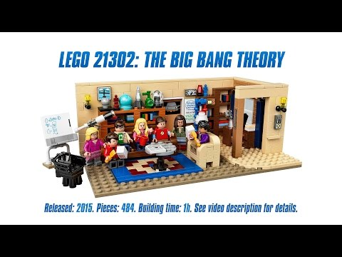 Vidéo LEGO Ideas 21302 : The Big Bang Theory