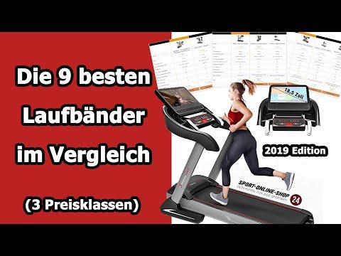 Laufband kaufen 2019 🏃 ➡️ die 9 besten Laufbänder im Vergleich [3 Preisklassen]