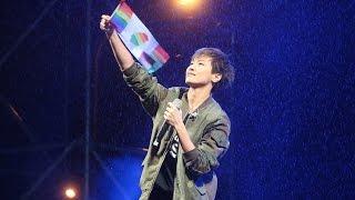 HOCC何韻詩告白出櫃心境 讚台灣人「厲害」淋雨演唱《勞斯.萊斯》「讓生命不再逝去 為婚姻平權站出來」音樂會 20161210