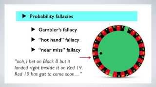 The Gambler's Fallacy: The Psychology of Gambling (6/6)