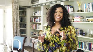 Inside Shonda Rhimes 1920s Style Home Study | Open Door | Architectural Digest