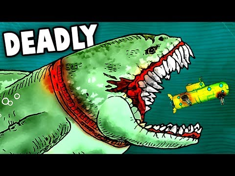 MEGALODON TAMING! HARPOON GUN AND ALPHA MEGALODON FIGHT