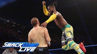 Kingston & Rollins Vs. Owens & Zayn – 2 Out Of 3 Falls Match: SmackDown LIVE, June 18, 2019