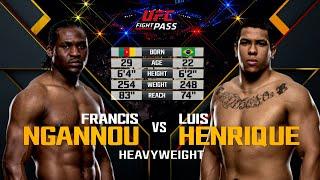 UFC Debut: Francis Ngannou vs Luis Henrique | Free Fight
