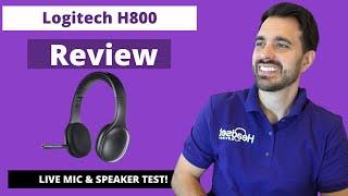 Logitech H800 REVIEW - Wireless Headset - MIC & SPEAKER TEST!