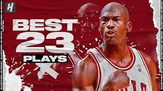 Michael Jordans BEST 23 Plays Proving He Was Like No Player Weve Ever Seen Before Or After!