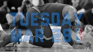 NBA Daily Show: Mar. 28 - The Starters
