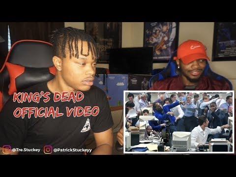 Kendrick Lamar, Jay Rock, Future, James Blake - King's Dead (Music Video) - REACTION mp3