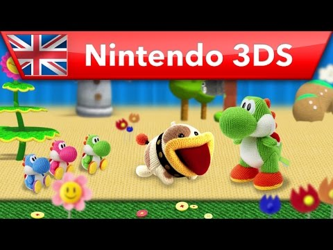 Poochy & Yoshi's Woolly World - New Features Trailer (Nintendo 3DS) thumbnail