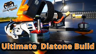 Ultimate Diatone FPV Drone Build With Drift Car Chase Maiden Flight????