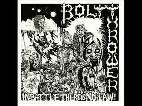 Bolt Thrower - In Battle There Is No Law online metal music video by BOLT THROWER
