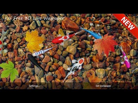 Vídeo do Koi Free 3D Live Wallpaper