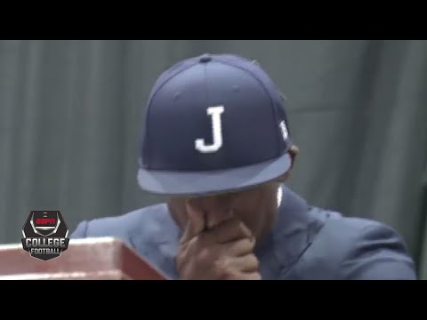 Deion Sanders gets emotional when introduced as Jackson State head coach | College Football on ESPN