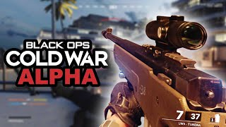 Black Ops Cold War Alpha ☆ Sniping Gameplay On Miami