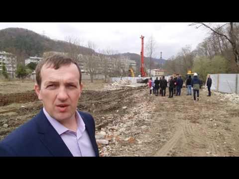 ЖК Кватро ход строительства