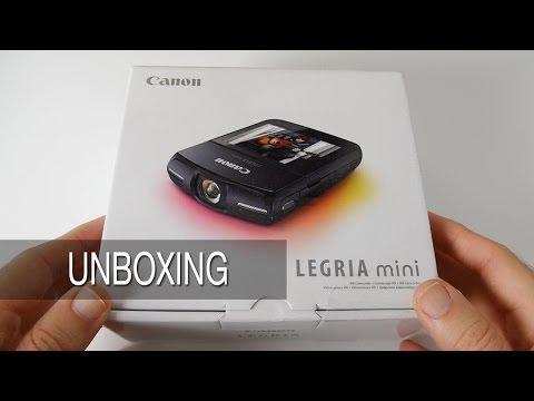 Canon Legria Mini [ Vixia Mini ] Unboxing & First Look